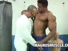 Douglas Masters: A Beefy Gym Buddy Anal Session