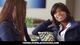 TeensLoveBlackCocks - 18 yr Elektra Rose First Time with a BBC!