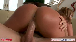 Tattooed chesty mom Ava Devine fucking  big ass reverse cowgirl asian mom blowjob cumshot tattoo hardcore milf mature cougar shaved mother big boobs naughty america ava devine myfriendshotmom naughtyamerica huge tits