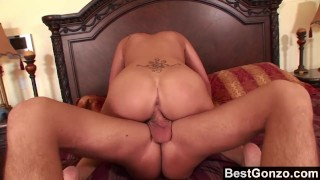 Asian babe getting her big tits glazed  london keyes big ass big tits piercings asian blowjob bestgonzo cumshot busty hardcore tattoos doggystyle big boobs