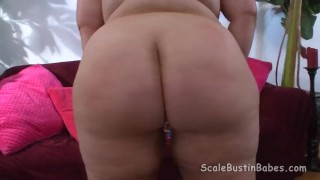 Preview 6 of BBW Charlie POV BJ Fucking with Flogging