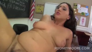 Chubby PAWG Vanessa Blake Big Butt School Girl Fucking Professor