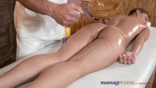 Preview 4 of Massage Rooms Stunning young athletic model cums multiple times
