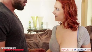 Preview 3 of Redhead girlfriend Siri gets slit licked and fucked