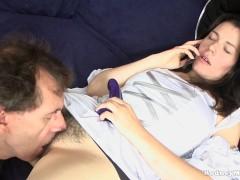 Kimmy West Cosplay Wet Hairy Pussy POV Blowjob