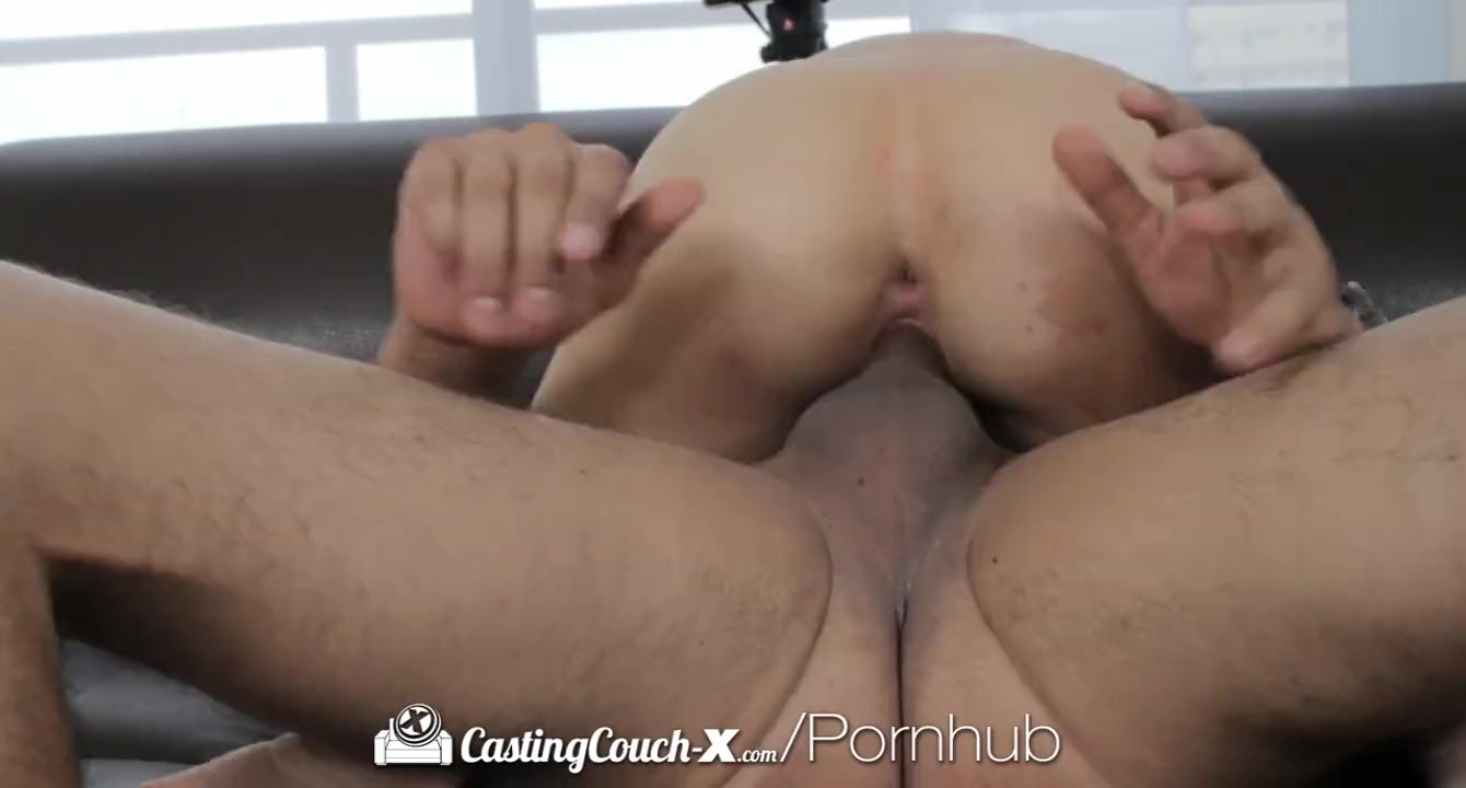 HD CastingCouch-X - Short cutie Natasha White shoots her first porn