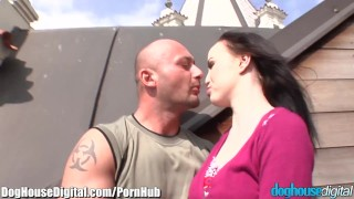 Doughouse European BiSex Hitchhikers 3Some  ass fuck bi curious blowjob cumshot bi sex bisexual bi mmf anal doggystyle facial pussy licking bisexual mmf fingering doghousedigital