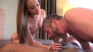 Kacy Lane Creampied By Black Cock And Husband Eats It Out  big cock masturbation creampie cuckold wife blowjob cock sharing bisexual cumeatingcuckolds interracial brunette bull 3some threesome cum eating