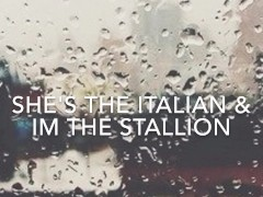 She's The Italian & I'm the Stallion BBC Complition