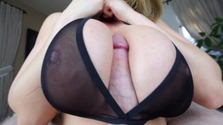 Kianna Dior - Sheer Bra Titfuck  point of view big tits tease tittyfuck asian canadian big dick brunette titty fuck pov foreplay big boobs titty fuck tit fuck pov tittyfuck