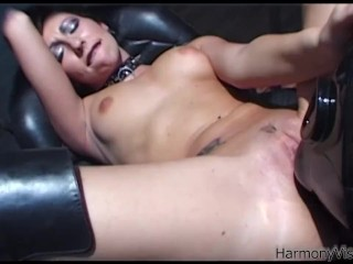 HARMONY VISION Anal Fucking Alicia Rhodes with strapon