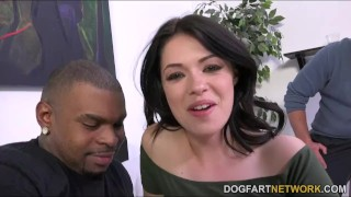 Cuckold watches Ava Dalush takes a black cock  big cock british creampie cuckold oral blonde small tits fetish hardcore kink cock sucking interracial dogfartnetwork pornstars hd videos