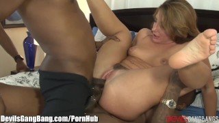 DevilsGangbangs DP'd SQUIRTing Slut loves BBC's  big black cock ass fuck bbc lingerie dp squirt blowjob spitroast squirting gangbang interracial anal orgasm double penetration female ejaculation devilsgangbang