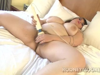 Fat Friend BBW Ruby Uses Used Sex Toys to Masturbate POV Close-up