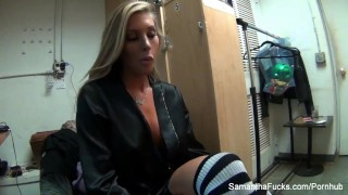 Preview 6 of Behind the scenes of Samantha's New York trip & feature dancing show (pt 3)