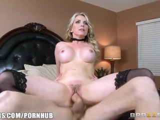 Sexy step mom Courtney fucks son - Brazzers