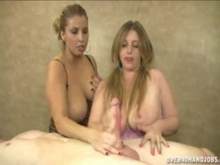 Over 40 Handjob - Stacie Starr & Raina