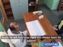 FakeHospital Patient gives new doctor healthy dose of blowjobs and fucking