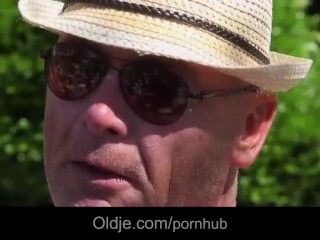 8 old and horny cock penetrating young tiny ass and pussy