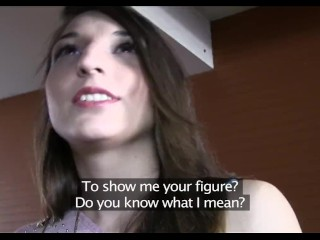 PublicAgent Sexy Spanish brunette fucked in a hotel room