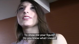 PublicAgent Sexy Spanish brunette fucked in a hotel room  sex for money big cock outdoors outside amateur cumshot public pov real reality camcorder sex for cash publicagent sex with stranger