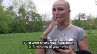 PublicAgent Glamour model with big tits fucked outside  sex for money sex for cash point of view big tits big cock outdoors outside russian amateur cumshot public pov real camcorder reality publicagent sex with stranger big boobs