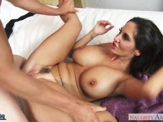 Busty milf Ava Addams fuck a large dick