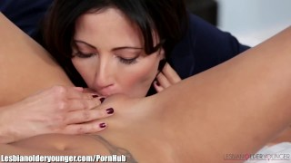 Alina Li Caught Masturbating with Step-Mom's Dildo  older younger big tits masturbation asian mom small tits skinny toys milf lesbian shaved fingering mother pussy licking pussy eating girl on girl facesitting lesbianolderyounger