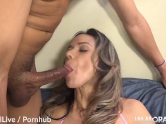 ImmoralLive Guys! When your hands are cold, put them in a MILF's pussy!