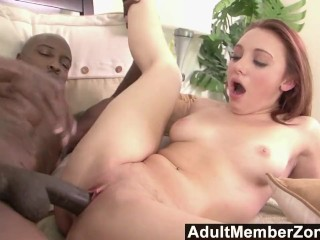 Adultmemberzone hot blonde goes crazy for a big black cock 6