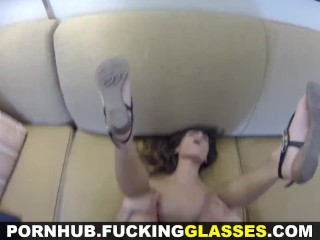 Fucking Glasses - Fucked for some juicy donations
