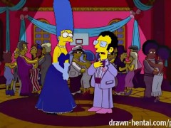 Simpsons Porn – Marge and Artie afterparty