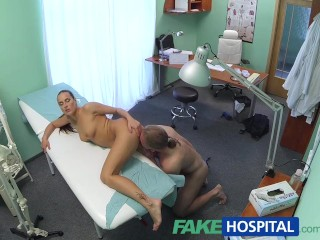 FakeHospital Patient Obtains The Hot Treatment