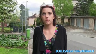 PublicAgent Student with big tits fucked in a park  sex for money sex for cash from behind big tits outside oral amateur blowjob cumshot public pov busty young reality czech european publicagent sex with stranger