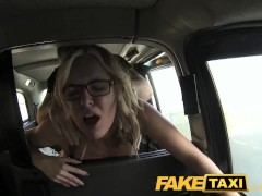 Sexy mature milf seduces driver