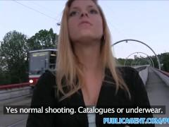 PublicAgent Hot blonde wants stranger to fuck her outside