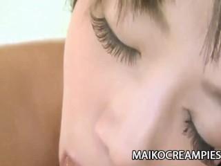 Akiko Kano - JAV Wife Experiencing Hot Juicy Sex