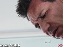 DevilsFilm Hairy Babysitter Fucks Latino Daddy