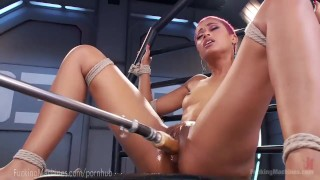 Skin Diamond Squirts On Dildo Machines ebony dildo strip-tease toys piercing fuck-machine masturbation fuckingmachines kink masturbate squirting tattoo pussy bondage orgasm tattoos fetish nerd moan