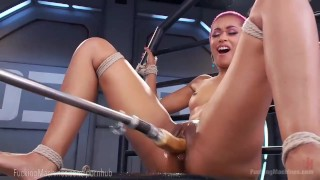 Skin Diamond Squirts On Dildo Machines  strip tease masturbation ebony dildo masturbate tattoo fetish nerd toys piercing kink squirting pussy bondage orgasm tattoos fuck machine fuckingmachines moan