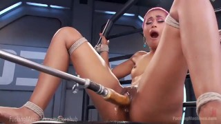 Skin Diamond Squirts On Dildo Machines  strip tease masturbation ebony dildo masturbate tattoo fetish toys piercing kink squirting pussy fuckingmachines bondage orgasm tattoos fuck machine nerd moan