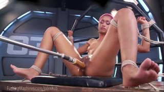 Skin Diamond Squirts On Dildo Machines  fuck machine strip tease masturbation ebony dildo masturbate tattoo fetish nerd toys piercing kink squirting pussy fuckingmachines bondage orgasm tattoos moan