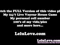 Lelu Love-POV Sybian Riding BJ Facial