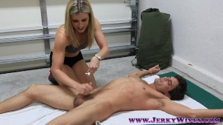 FM Tickle Orgasm  milf tied tickle orgasm bdsm blonde