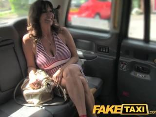 Huge Tits Brit Banged To