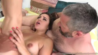 Pathetic Husband Watches Zoey Foxx Sucking Dick And Getting Fucked 3some cock sharing wife masturbation bisexual masturbate husband blowjob cumeatingcuckolds cum-eating cumshot threesome brunette cuckold bull