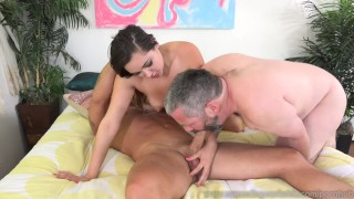 Pathetic Husband Watches Zoey Foxx Sucking Dick And Getting Fucked  masturbation cuckold wife masturbate husband blowjob cum-eating cumshot cock sharing bisexual cumeatingcuckolds brunette bull 3some threesome