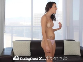 Castingcouch-x - sophia grace gets mouth filled with casting agents dick