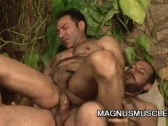 Francisco and Renato Arcanjo: Daddy Bear Fiery Fuck Session