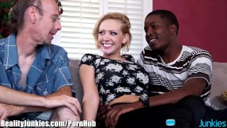 Kagney Linn Karters Black Cocked Cuckold  open mouth cumshot big black cock big tits big cock bbc reverse cowgirl cuckold blowjob blonde cumshot interracial shaved interracial cuckold big boobs realityjunkies fake tits